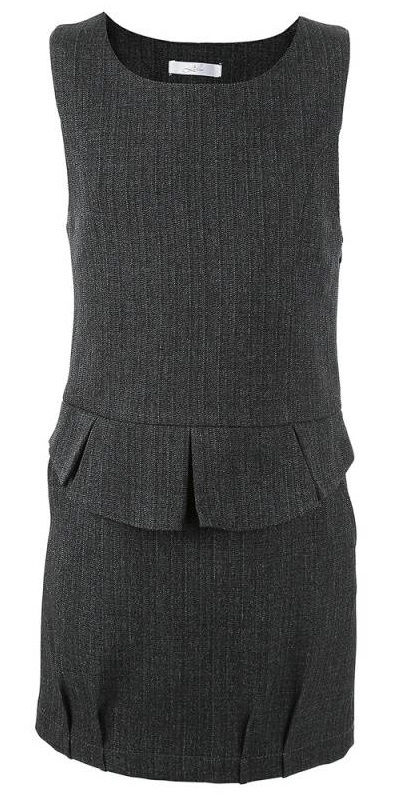 Купить Л2162, Сарафан Лидер, цв. темно-серый, 152 р-р, Leader, Сарафаны для девочек