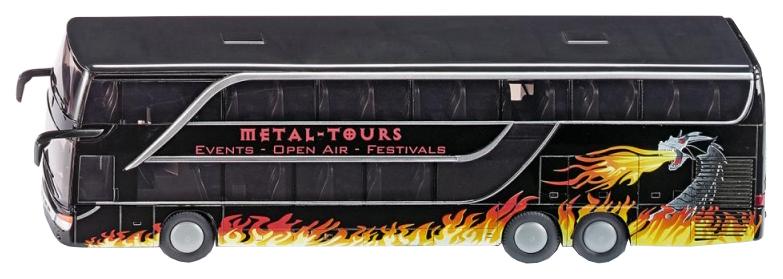 Автобус Siku Туристический Черный фото