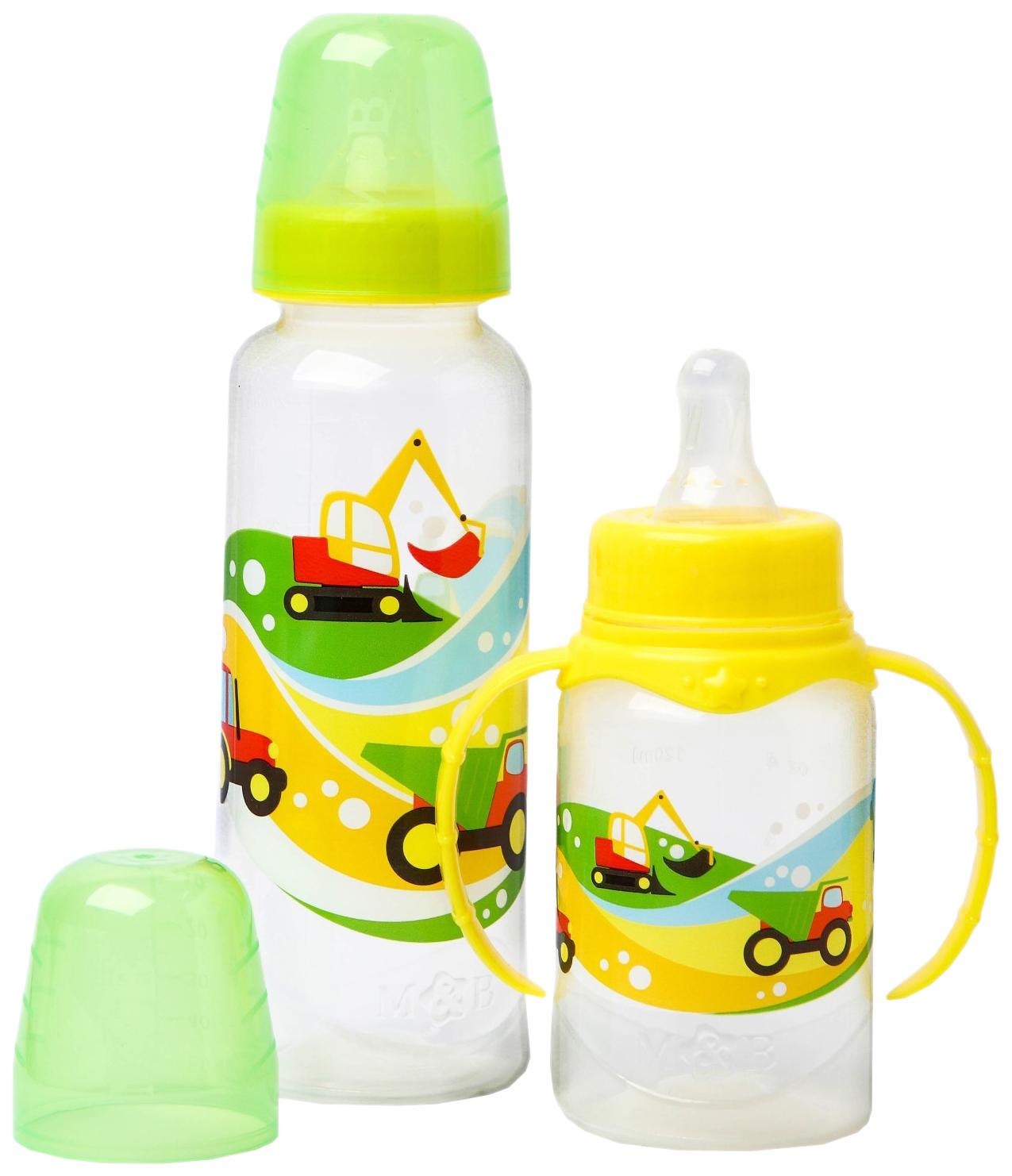 Подарочный детский набор Транспорт от 0 мес., цвет желтый Mum&Baby