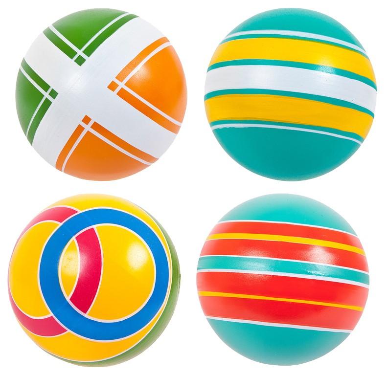 Мяч д.100 мм грунтованные окрашенные вручную,
