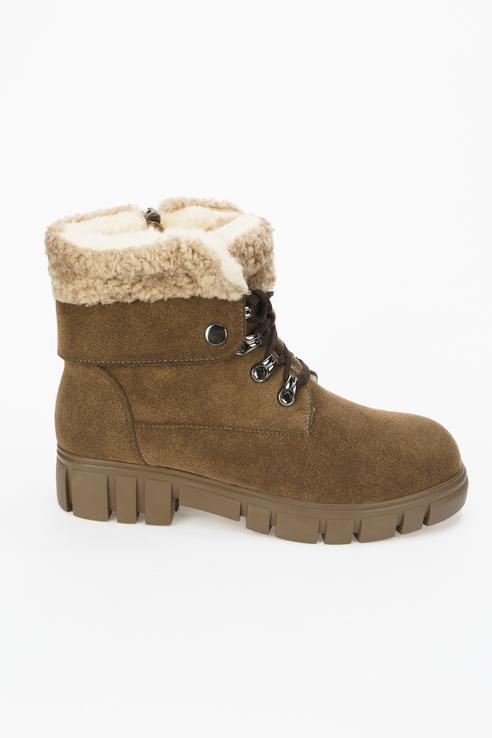 Ботинки женские Betsy 998016/01 коричневые 39 RU
