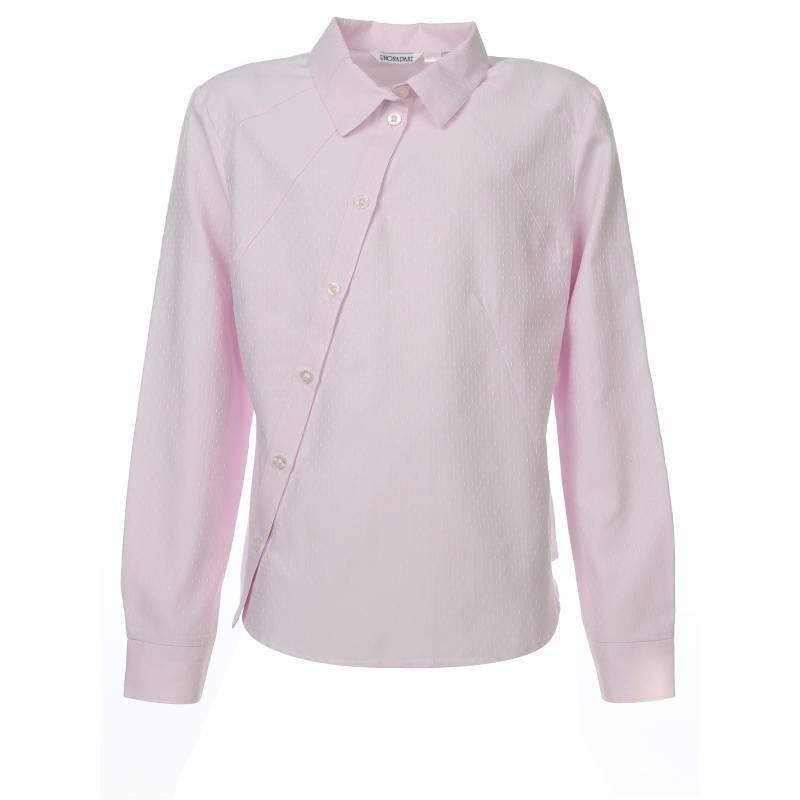 Купить 655, Блузка UNONA D'ART, цв. розовый, 152 р-р, Детские блузки, рубашки, туники