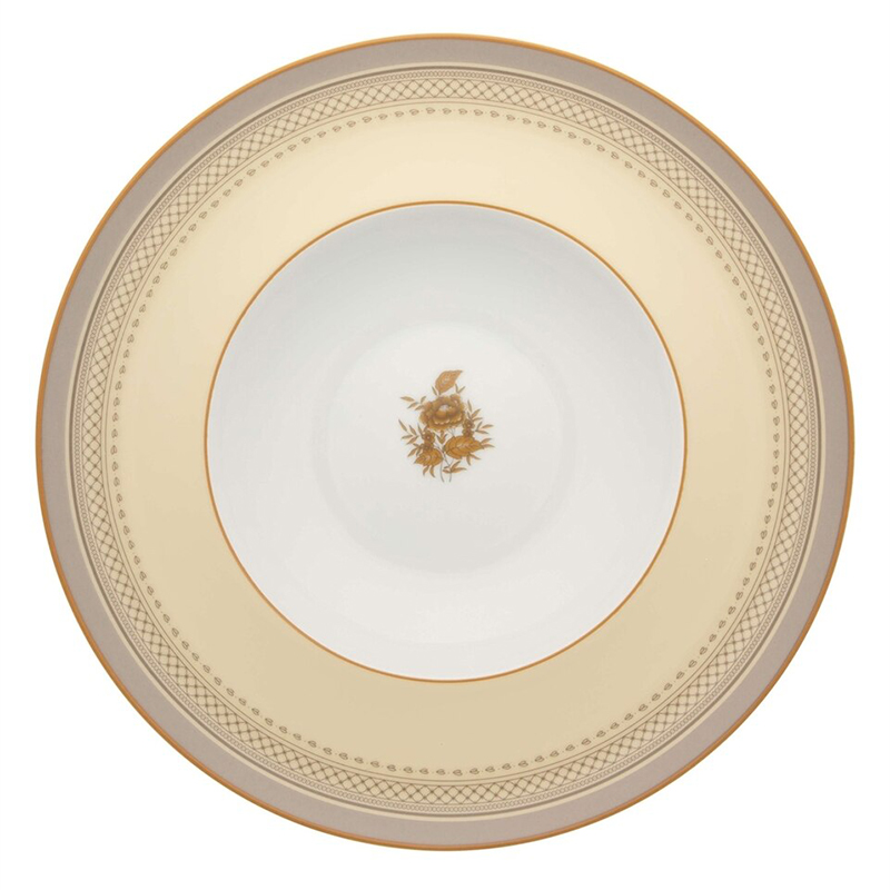 Тарелка обеденная 285мл Vista Alegre HERITAGE, цвет белый, желтый