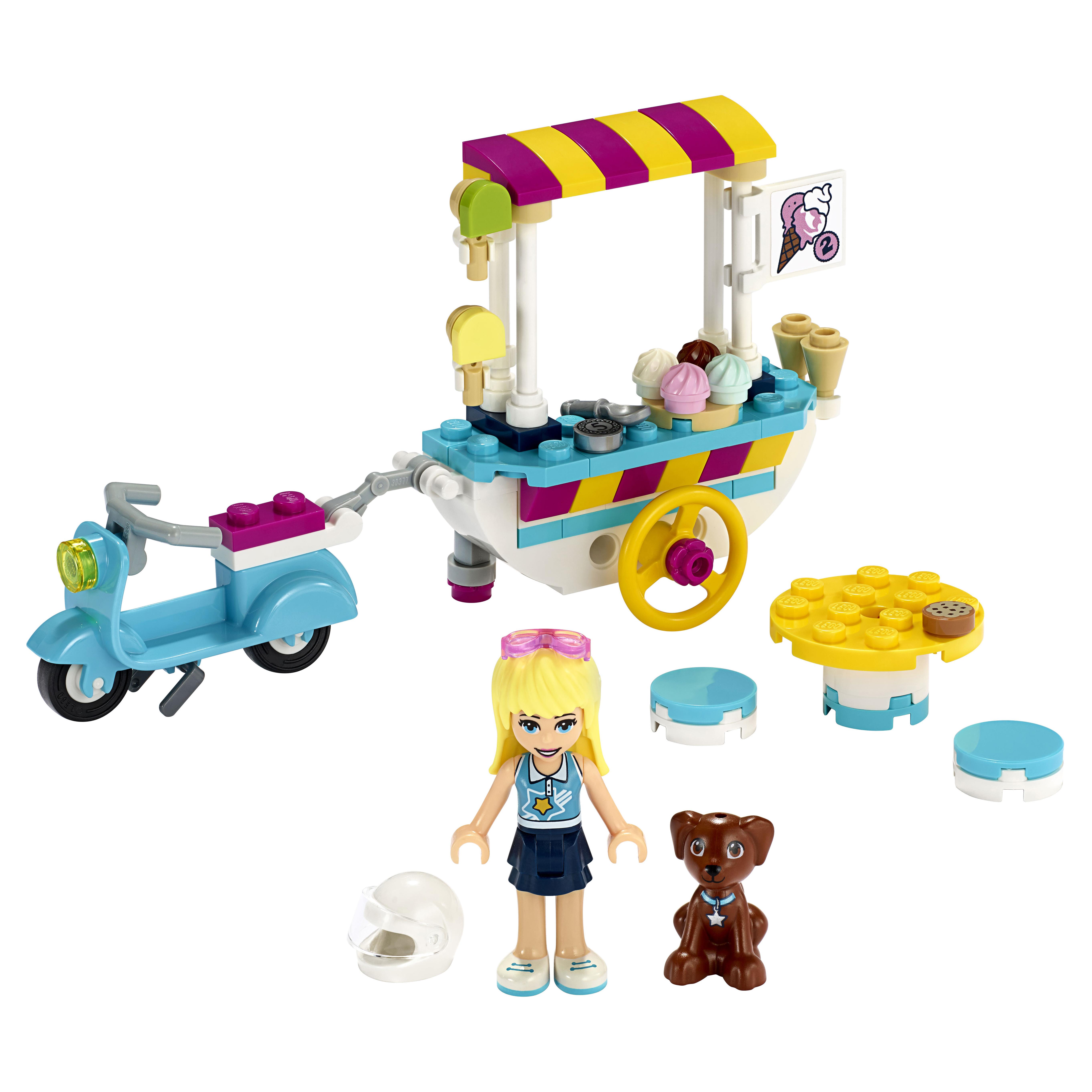 Конструктор LEGO Friends 41389 Тележка с мороженым фото