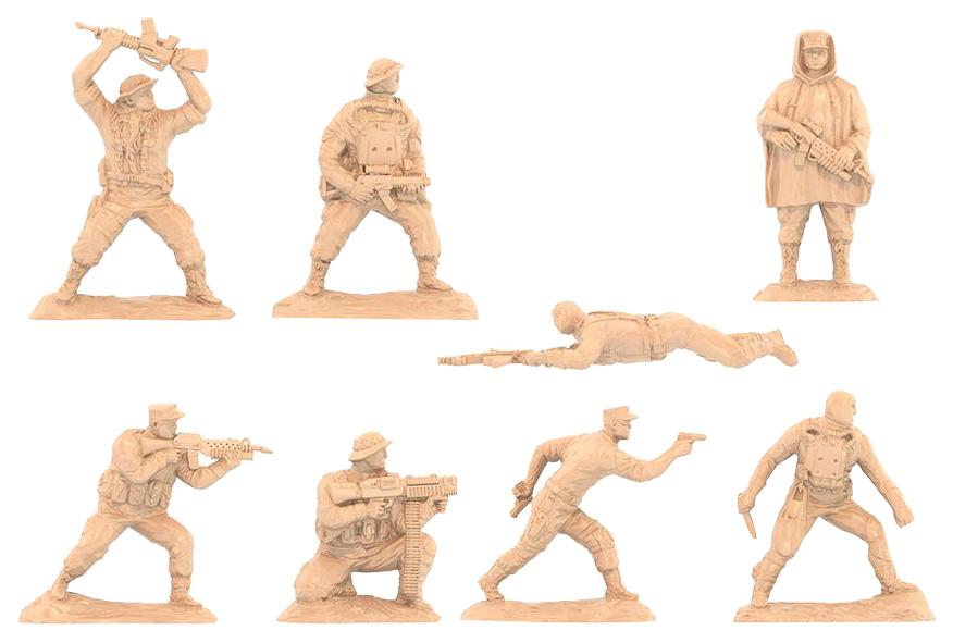 Игровой набор НОРДПЛАСТ Солдатики 16 Шт. В Блистере
