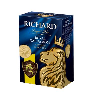 Чай Richard Royal Cardamom черный листовой с добавками 90 г фото