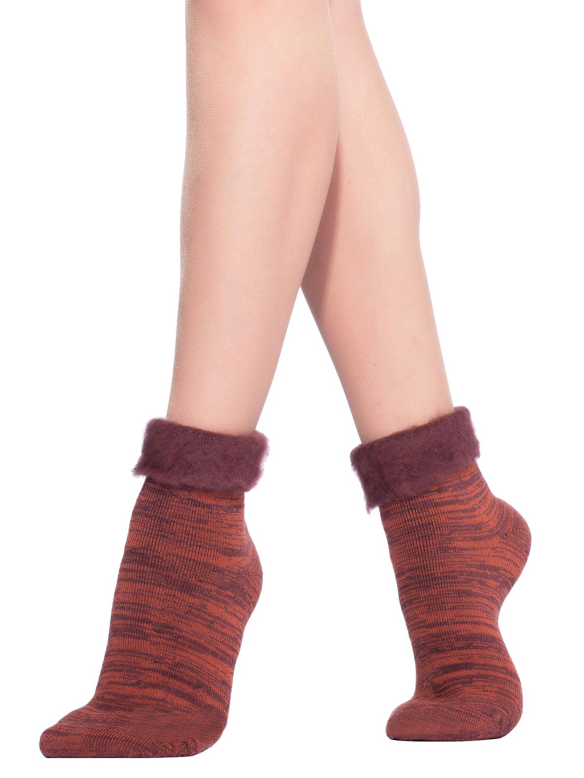 Носки женские Hobby Line коричневые 36-40