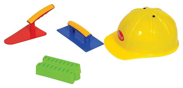 Набор строителя Gowi 4 предмета.