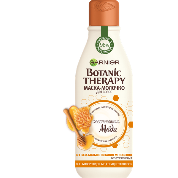 Маска-молочко для волос Garnier Botanic Therapy Восстановление Меда