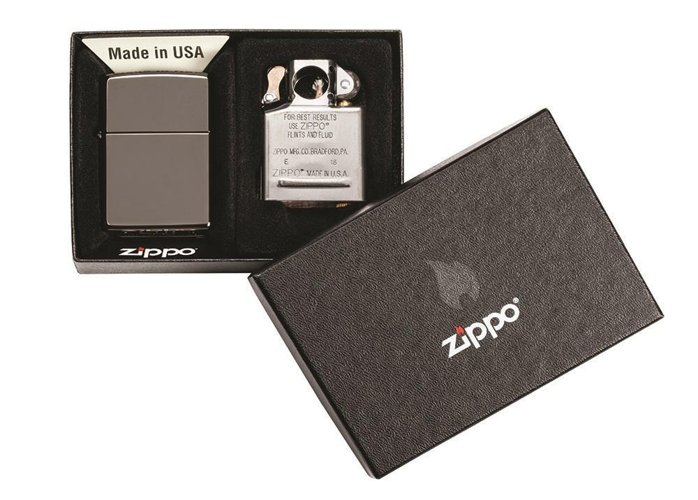Бензиновая зажигалка Zippo 29789 Black Ice