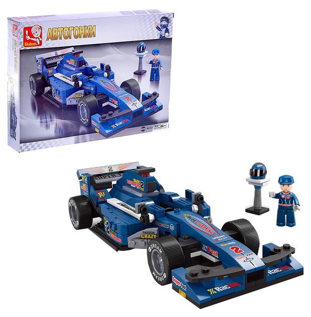 Конструктор Формула: гоночный болид 287 деталей Sluban