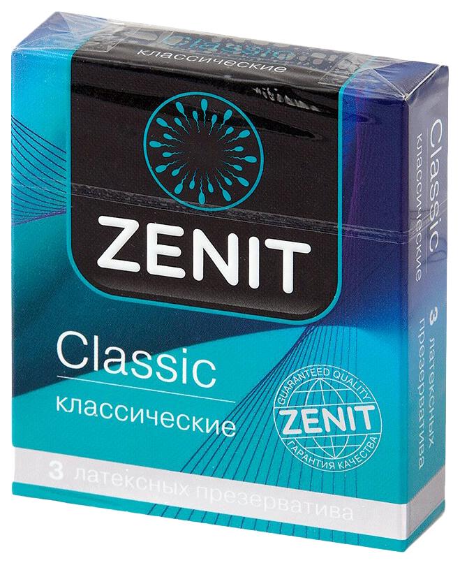 Презервативы Зенит классические 3 шт.