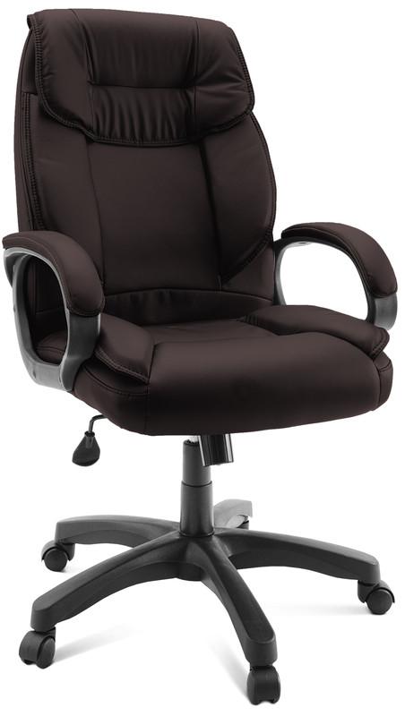 Кресло руководителя ГЕЛЕОС Бизнес, коричневый