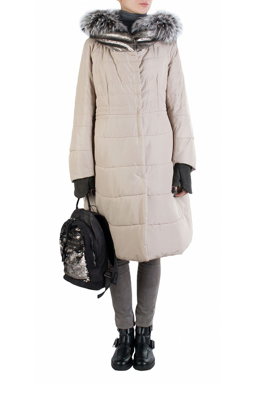 Куртка женская J.N.C. 91333 бежевая 46 IT