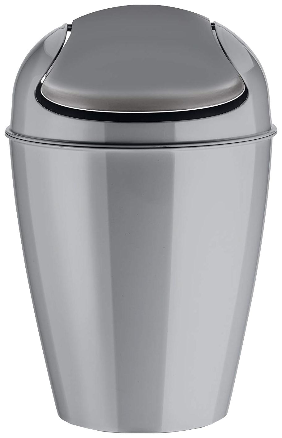 Ведро для мусора Koziol Del 5777632 Серый