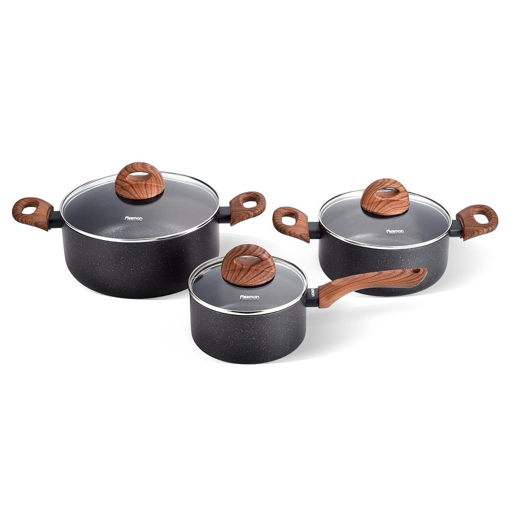 Набор посуды Fissman 4348 Черный