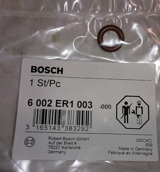Кольцо уплотнительное Bosch 6002ER1003