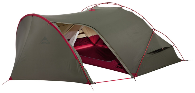 Палатка MSR Hubba Tour двухместная зеленая