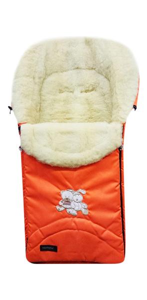 Купить Спальный мешок в коляску Womar Excluzive №08 2 Оранжевый, Конверты в коляску