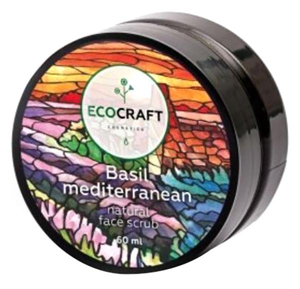 Купить Скраб для лица Экокрафт для жирной и проблемной кожи Базилик средиземноморский 60 мл, EcoCraft