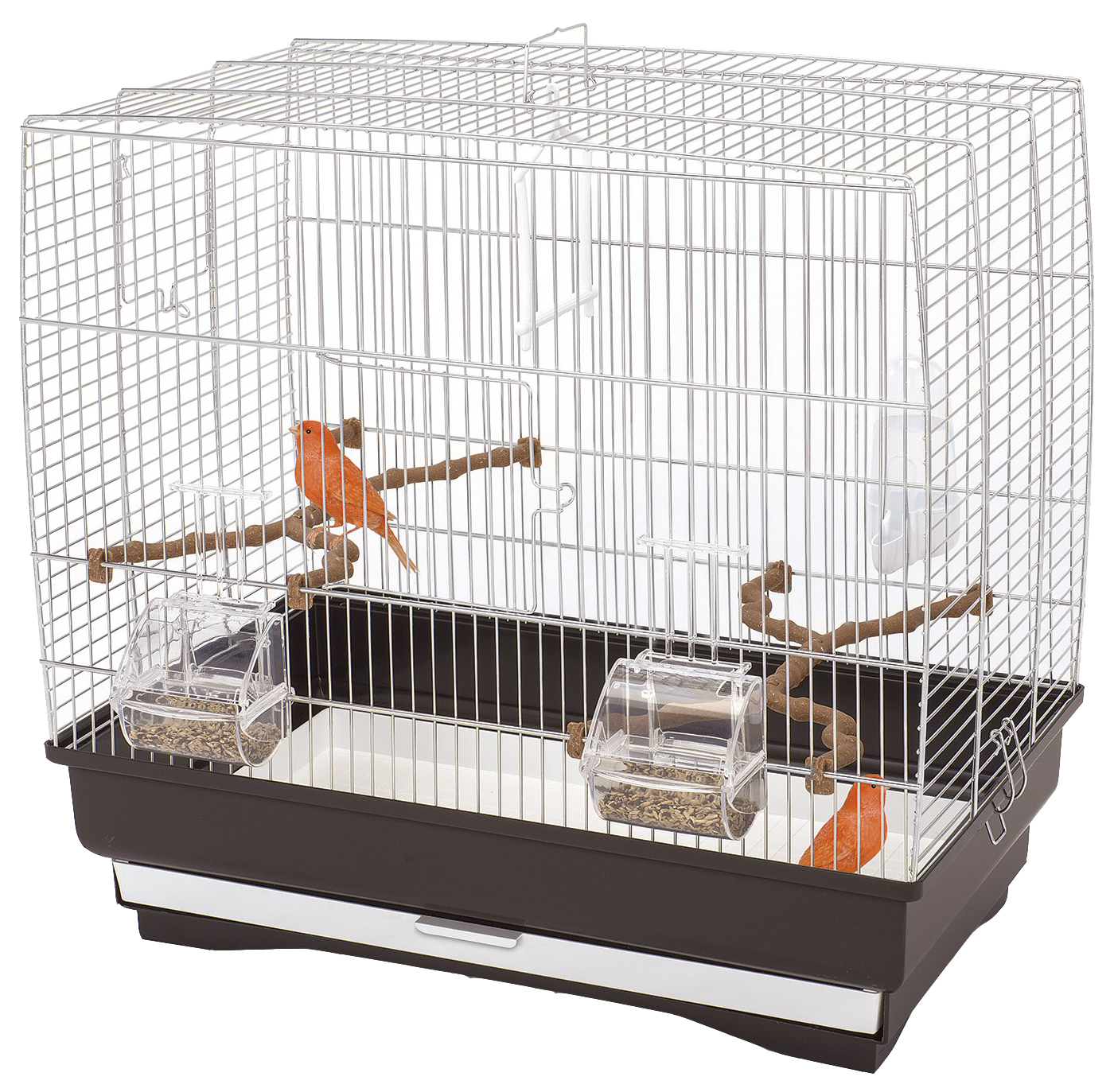 Клетка для птиц IMAC Irene 3 коричневая