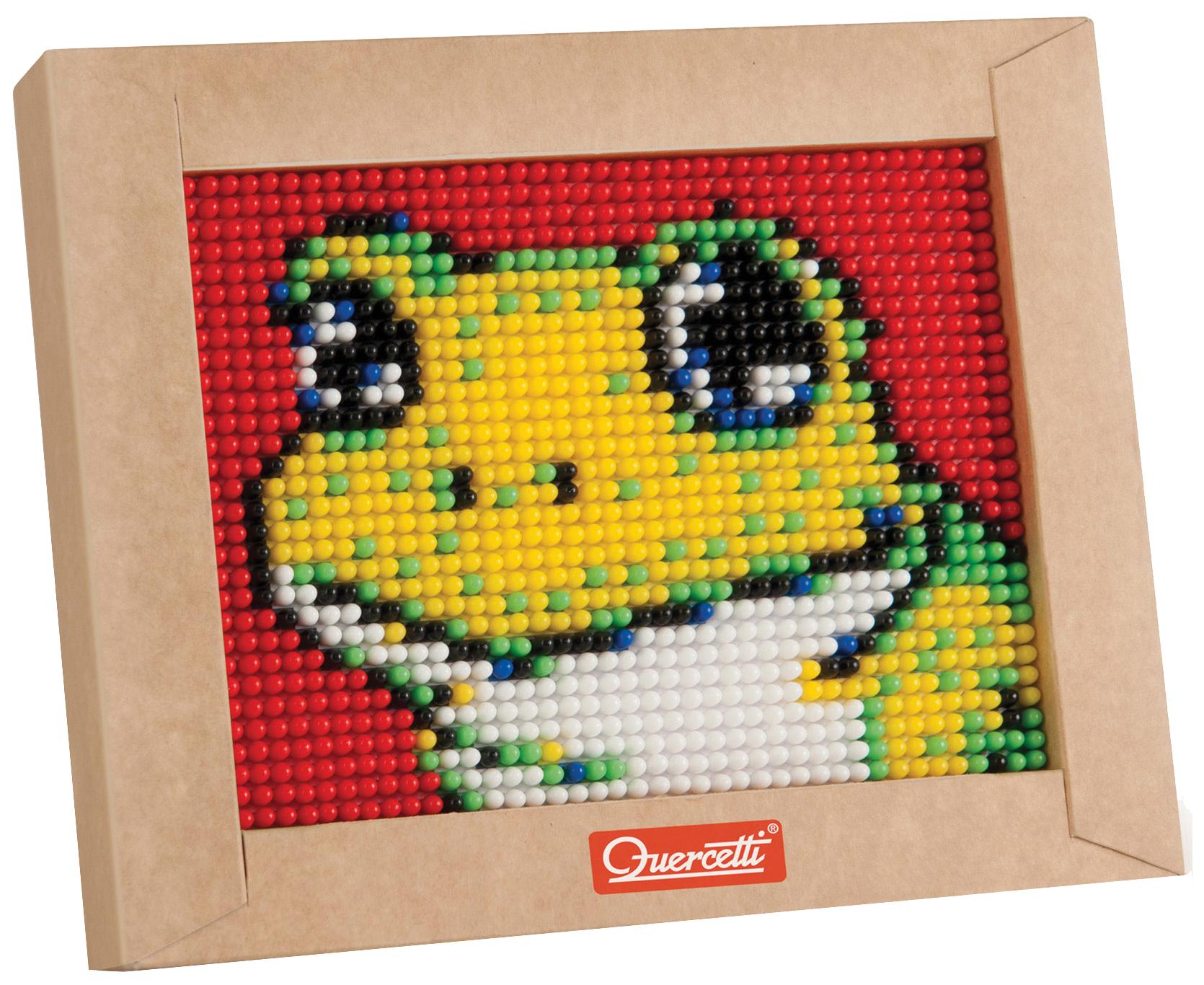 Quercetti Quercetti Пиксельная мозаика серии Мини Лягушонок