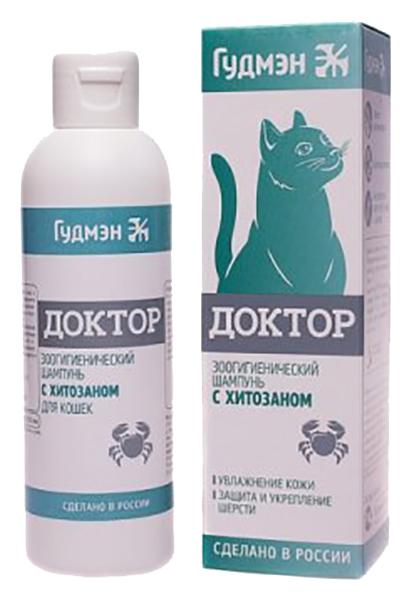 Шампунь для кошек ГудМэн Доктор с хитозаном,