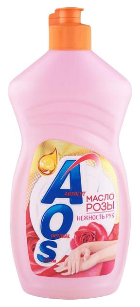 Средство для мытья посуды жидкое Аos масло