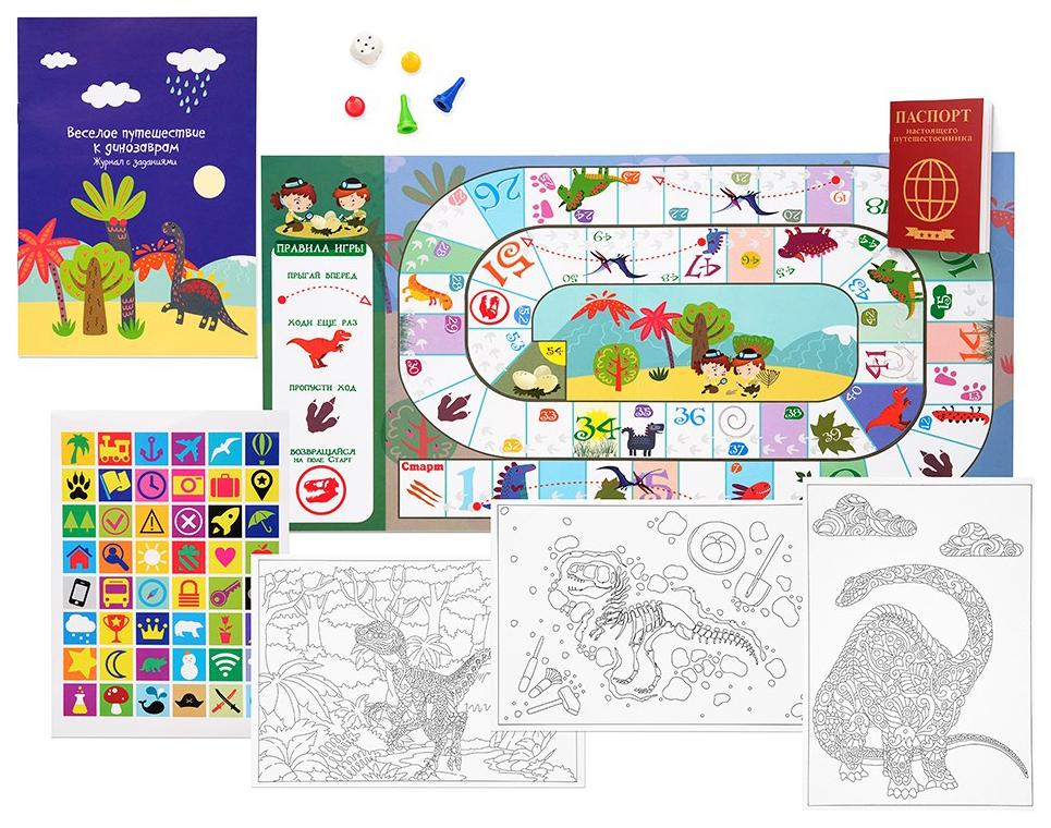 Купить Семейная настольная игра Бумбарам Путешествие к динозаврам, Семейные настольные игры