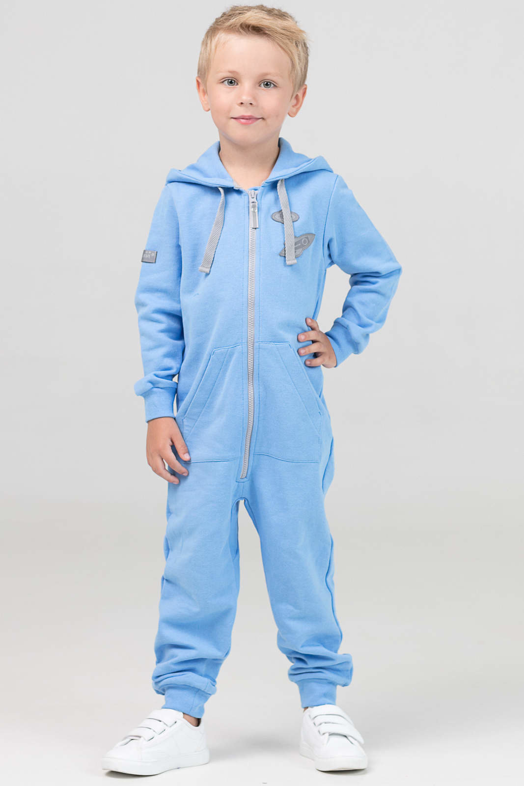 Купить Комбинезон детский The Cave Ready голубой 500104 р.116, Повседневные комбинезоны для девочек