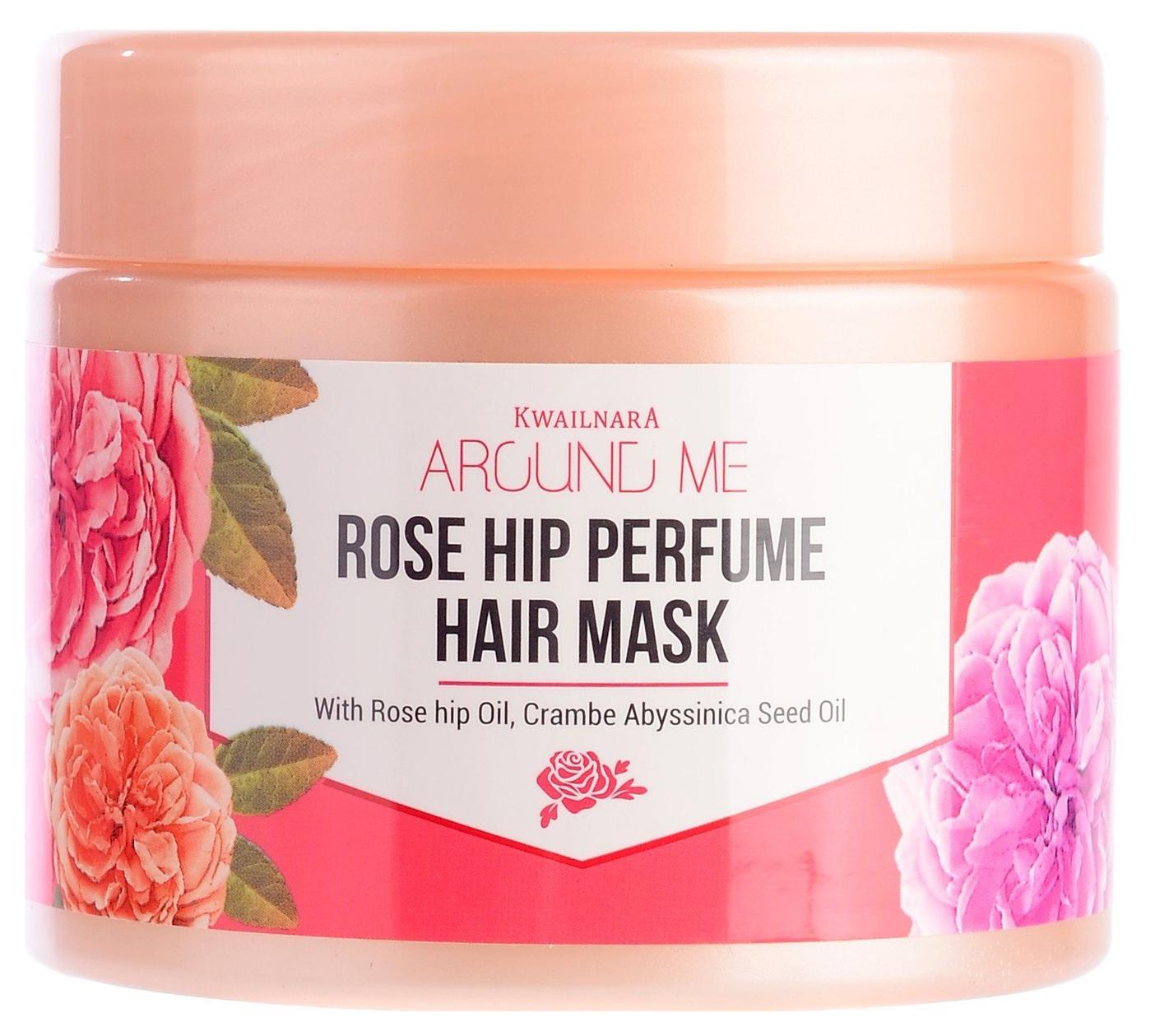 Маска для волос Welcos Around Me Rose