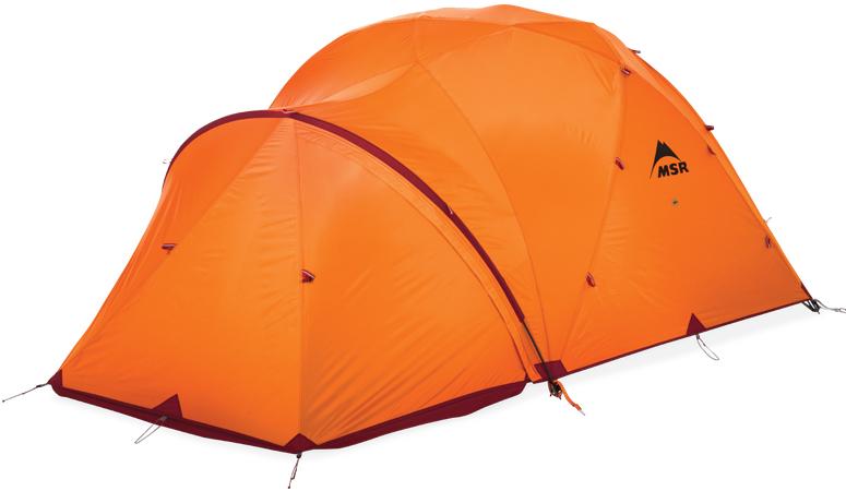 Палатка MSR Stormking оранжевая пятиместная