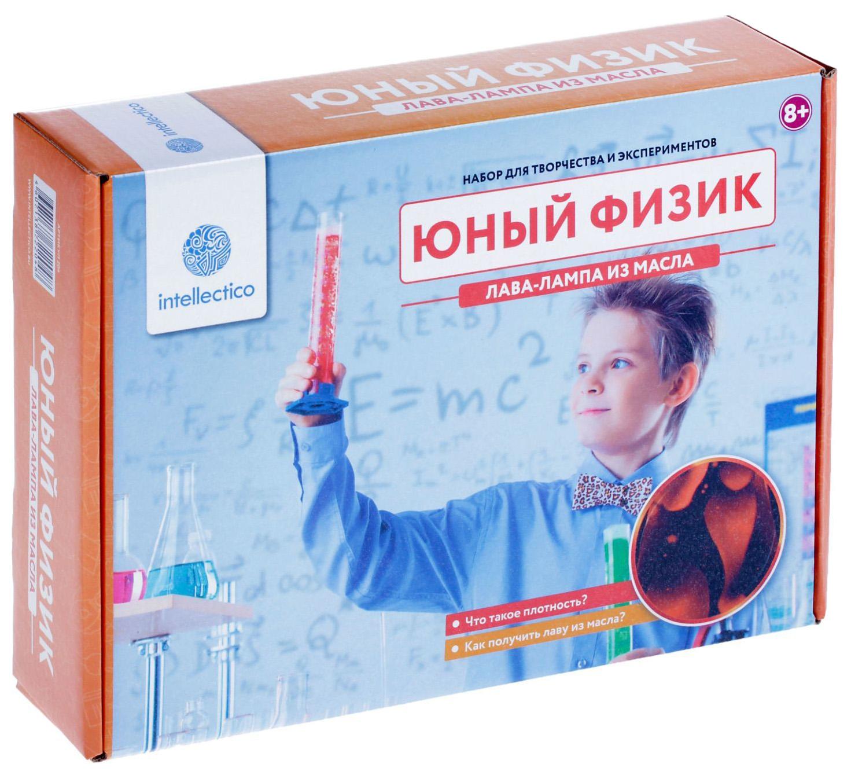 Набор для опытов INTELLECTICO 204 Юный Физик, Лава-лампа из масла