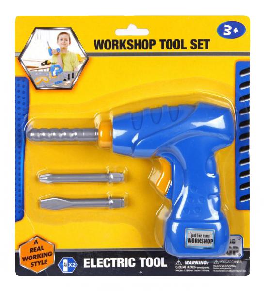 Купить Инструмент игрушечный Наша Игрушка Дрель с насадками, Наша игрушка, Детские мастерские