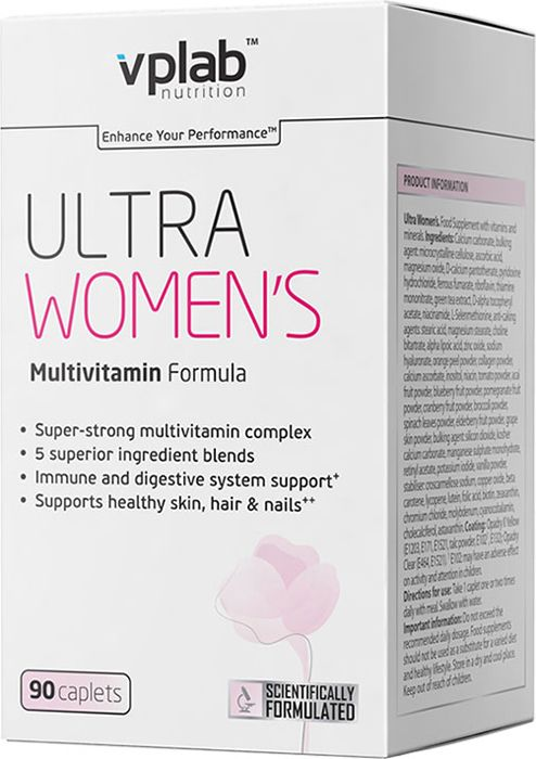 Витаминно минеральный комплекс VPLab Ultra Women's Multivitamin