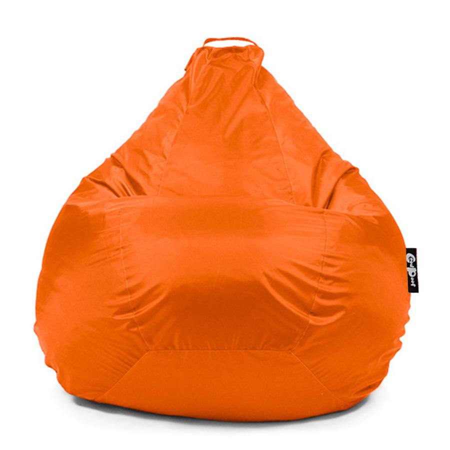 Кресло-мешок GoodPoof Груша Оксфорд, размер M, оксфорд, оранжевый