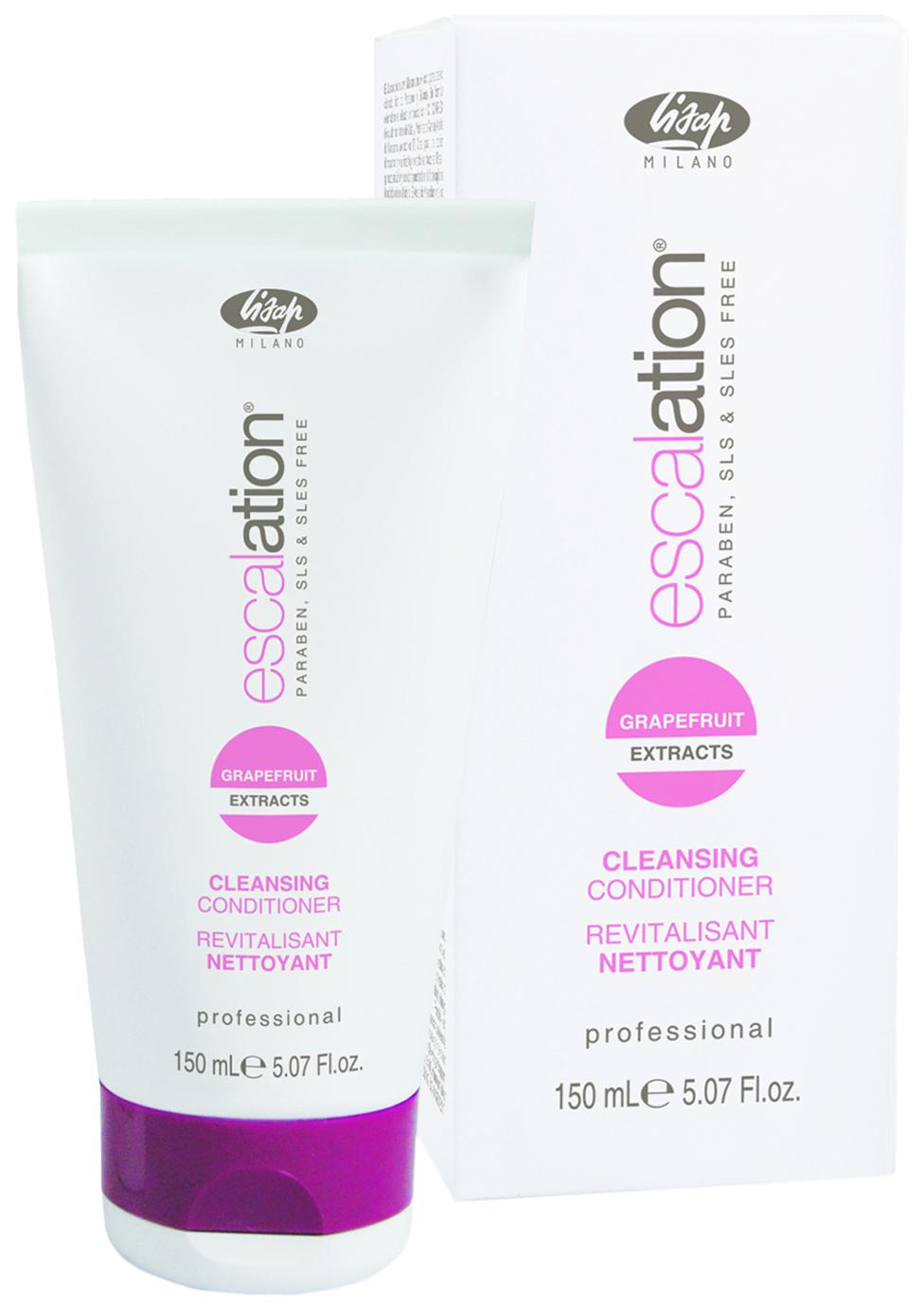 Кондиционер для волос Lisap Milano Escalation Cleansing Conditioner Очищающий, 150 мл