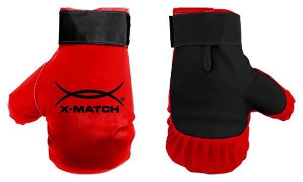 Боксерские перчатки X Match 87729 красные 5,86