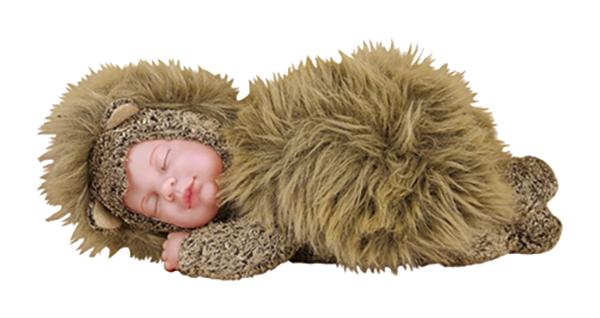 Коллекционная кукла UNIMAX Anne Geddes Детки ежики