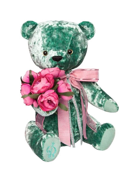Мягкая игрушка Budi Basa Медведь БернАрт зеленый BAe-60
