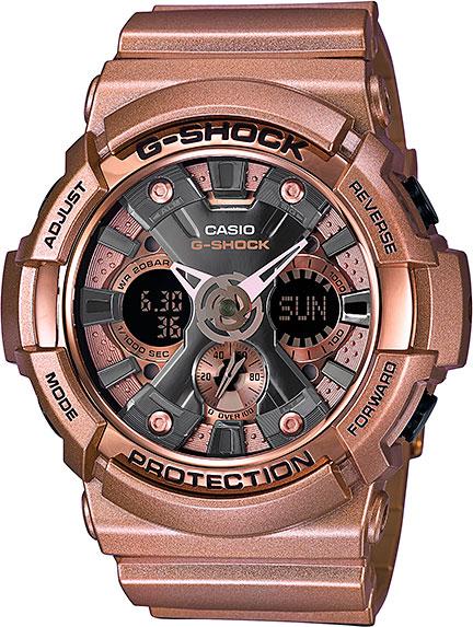 Японские наручные часы Casio G-Shock GA-200GD-9B с хронографом фото