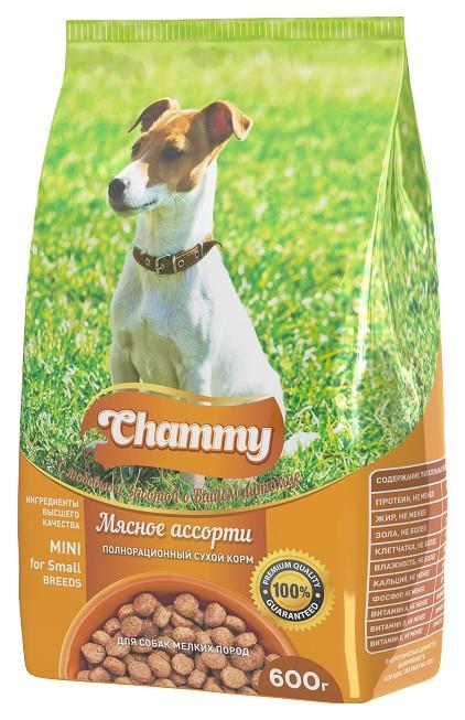 Сухой корм для собак Chammy Mini,