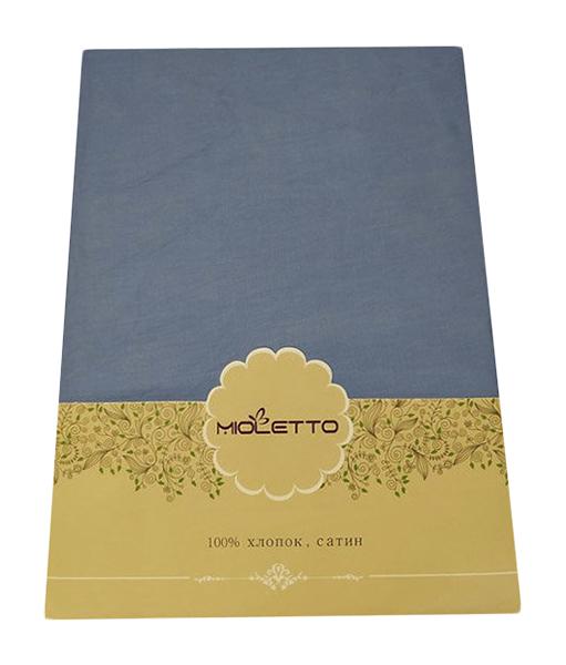 Простыня на резинке MIOLETTO 162 200/200/25 Синий