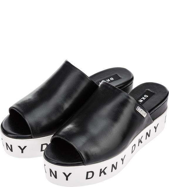 Сабо женские DKNY K4899776/BLK черные 41