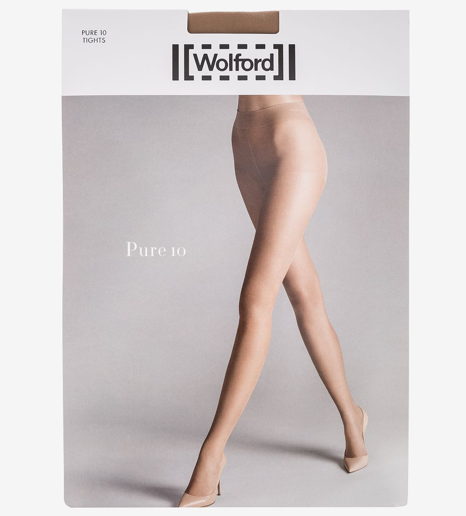 Колготки Wolford 144974004 бежевый 48 фото