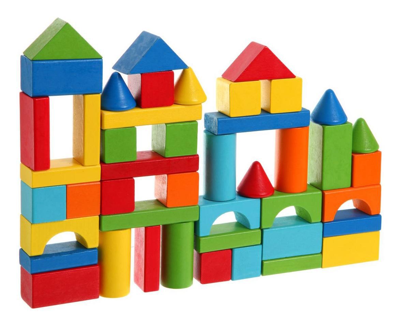 картинка Набор строительных кубиков Bondibon ВВ1086 от магазина Bebikam.ru