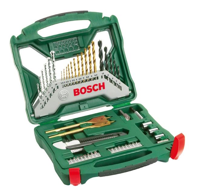 Наборы бит и сверл для дрелей, шуруповертов Bosch X-line 50 2607019327 нАБОР X-LINE-50