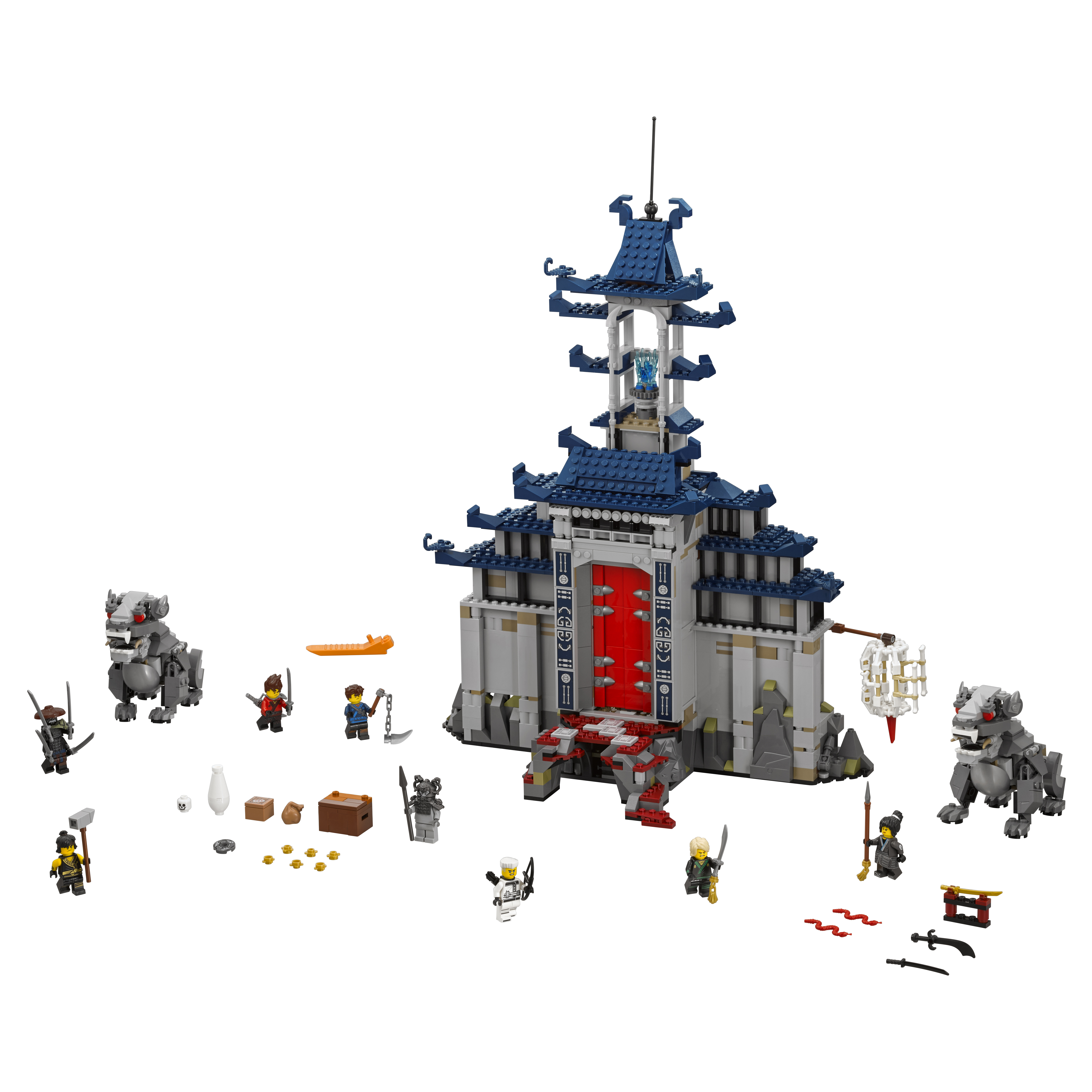 Конструктор LEGO Ninjago Храм Последнего великого оружия