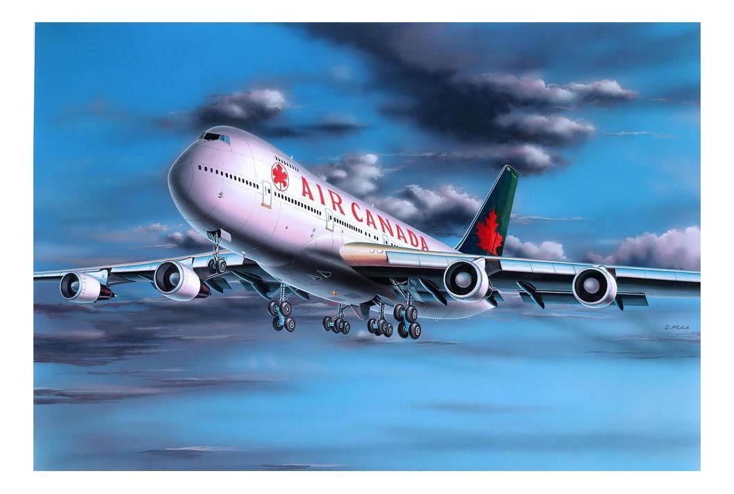 Набор самолет boeing 747