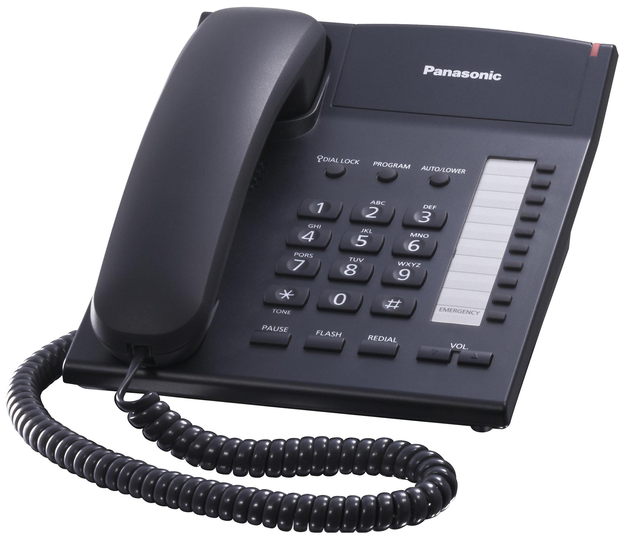 Проводной телефон Panasonic KX TS2382RUBчерный
